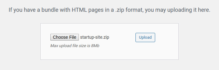 Uploading Your Startup Website to WordPress