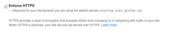 Securing Your GitHub Pages Site With HTTPS
