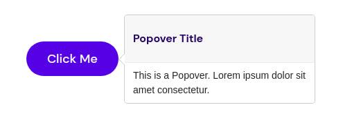 Popover