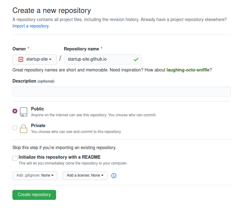 How to Upload Your Startup Website to GitHub Pages